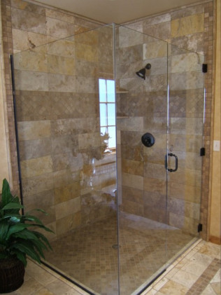 Frameless Shower Glass Installation